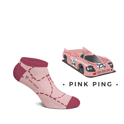 Pink Pig Low Socks