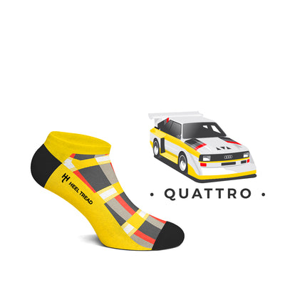 Quattro Low Socks