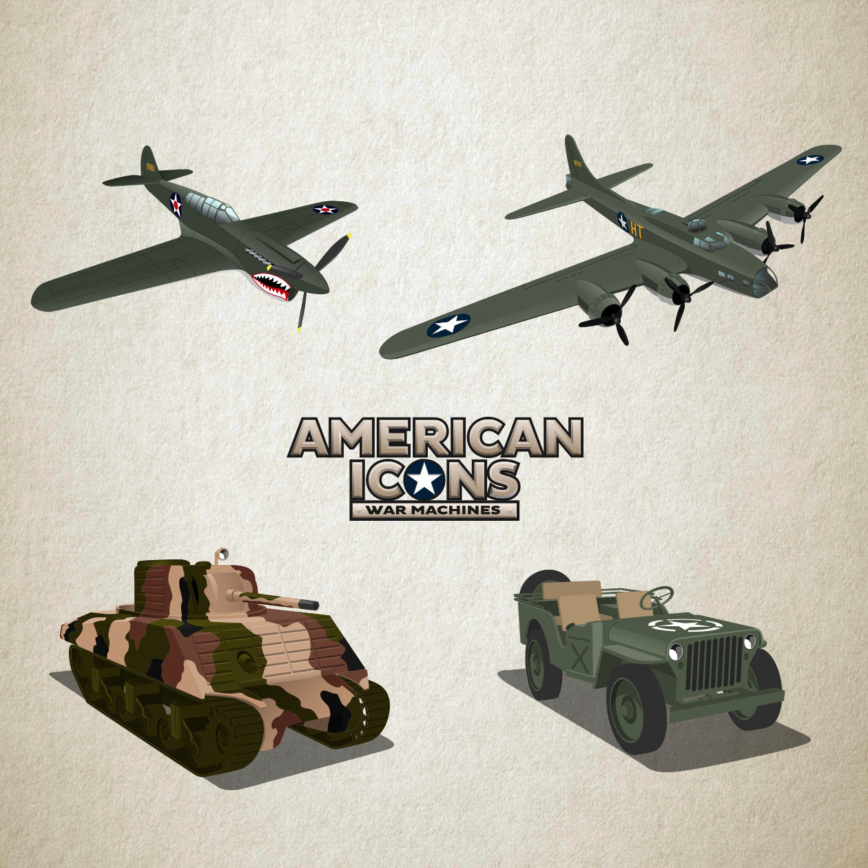 American Icons - War Machines Pack