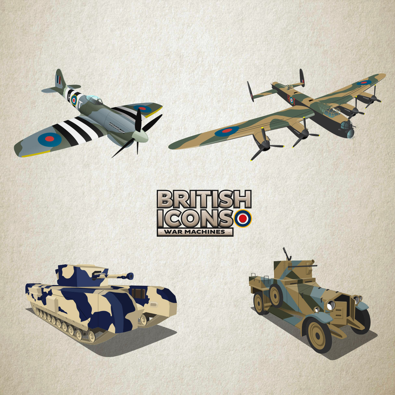 British Icons - War Machines Pack