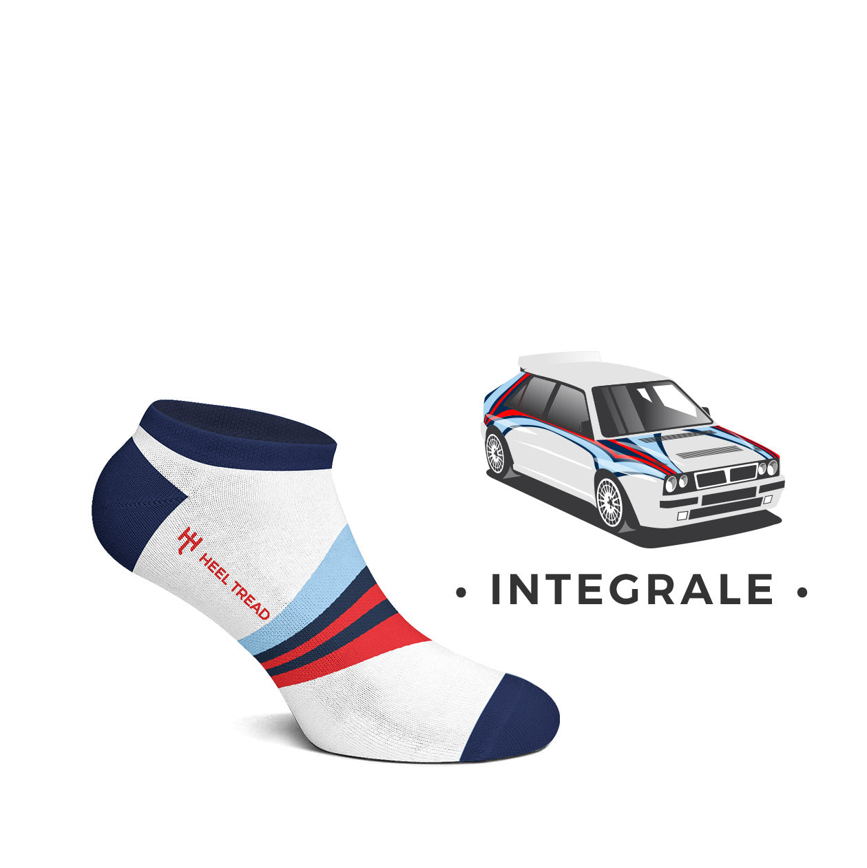 Integrale Low Socks