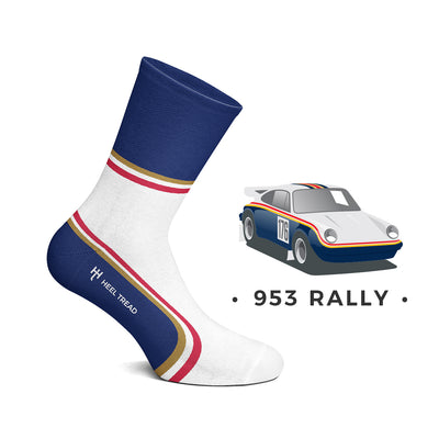 Heel Tread - 953 Rally Socks