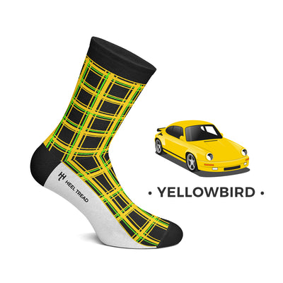 Yellow Bird Socks