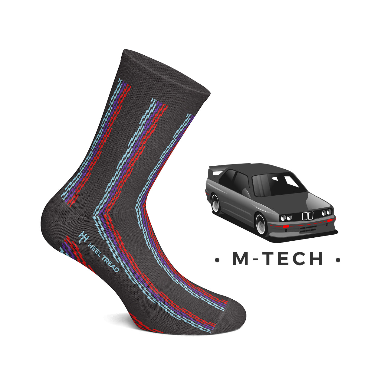 Heel Tread - M-Tech Socks