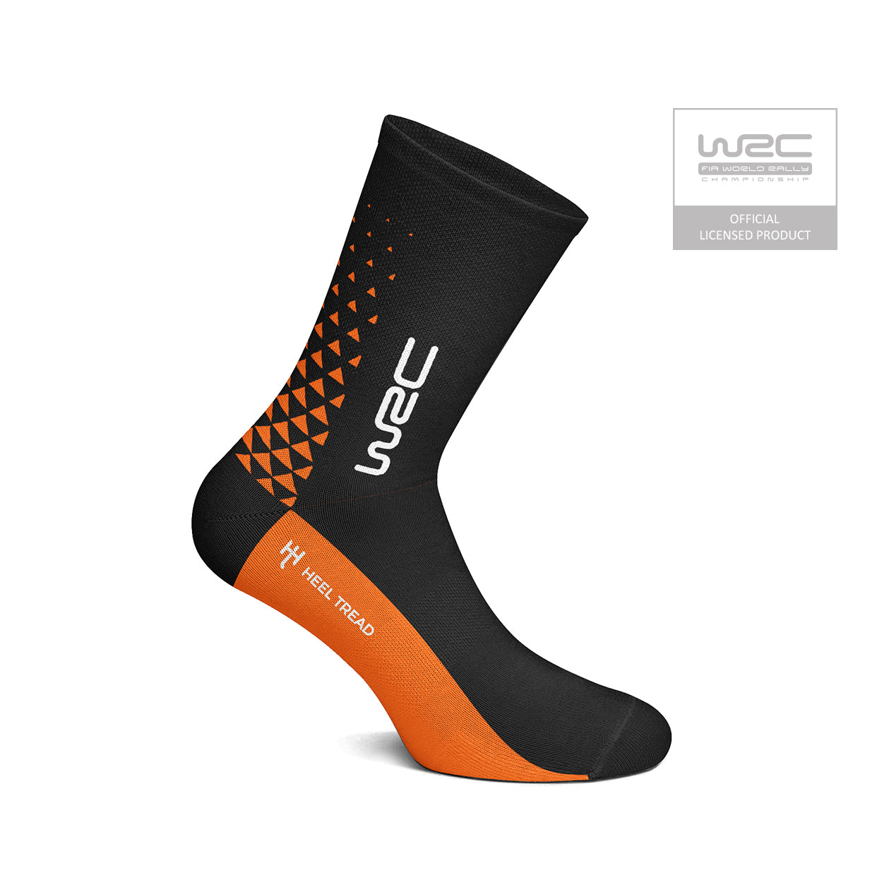 WRC Official Black/Orange Socks
