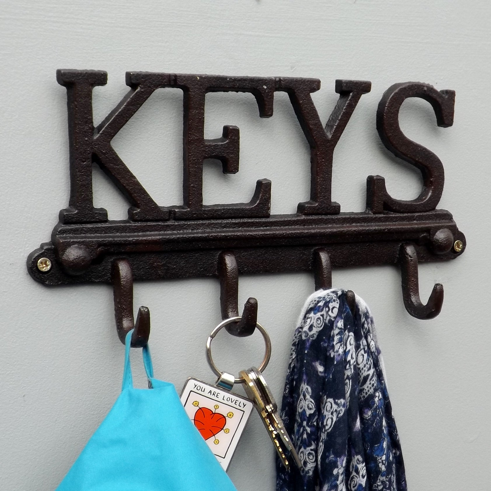 The KEYS Cast Iron Rack