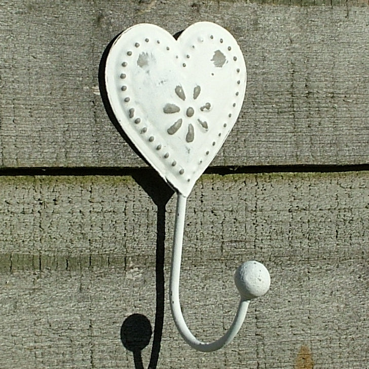 Vintage Heart Coat Hook
