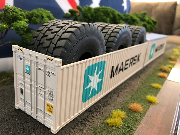 Maersk 40' 9'6 Open Top Container