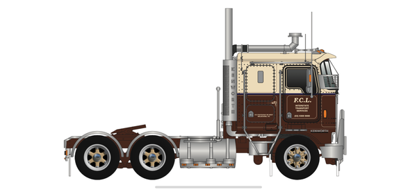 **PRE-ORDER** F.C.L INTERSTATE TRANSPORT DIECAST KENWORTH MODEL