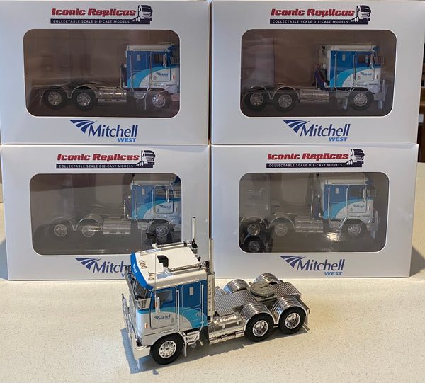 K100G MITCHELL WEST FUEL DIECAST MODEL KENWORTH