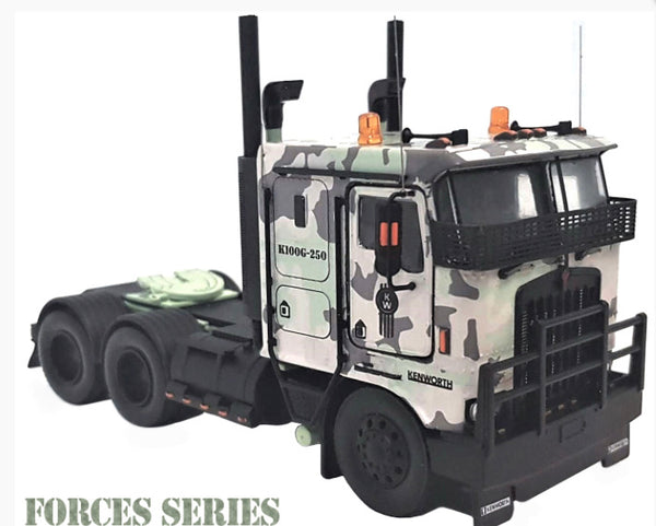 "K100G ""FORCES SERIES"" KENWORTH 1/50 Diecast Scale Model"