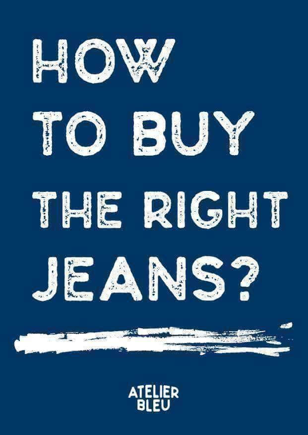 How do you actually select the right jeans?