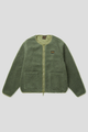 Stan Ray Fleece Layer Cardigan Olive Boa Jackets Atelier Bleu