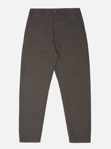 Universal Works Military Chino Brown Tropical Suiting Pants Atelier Bleu