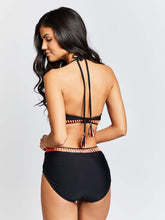 KAI  Duo Tone Bar Swimsuit