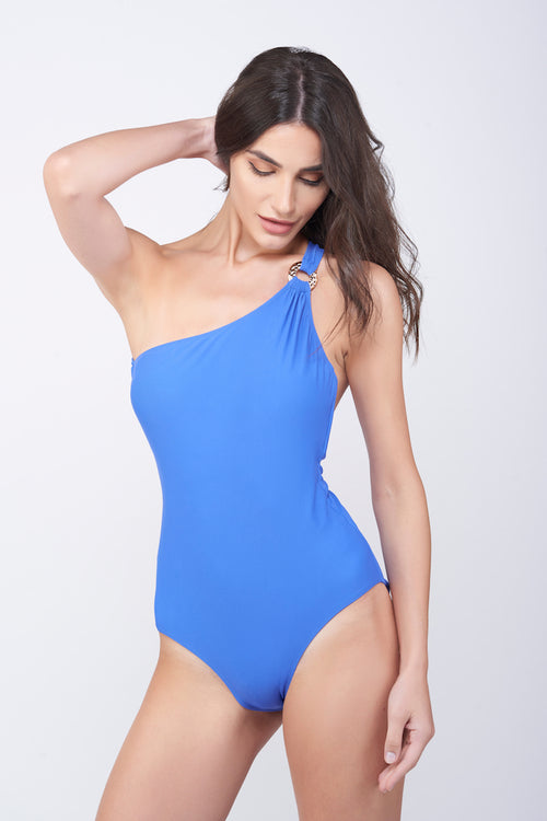 KAI One Shoulder Ring Swimsuit