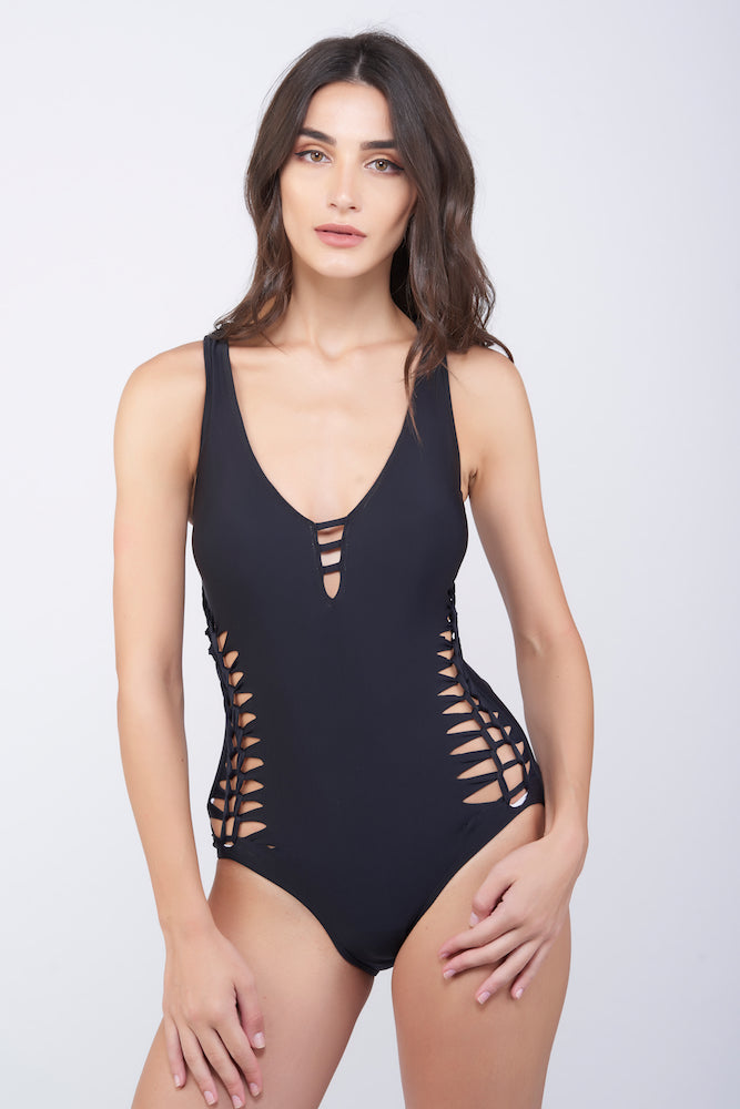 KAI Knot Mesh Swimsuit