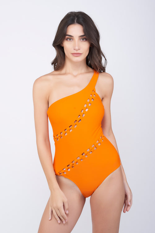 KAI String Mesh Swimsuit