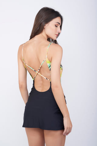 KAI Pine Mesh Swimdress