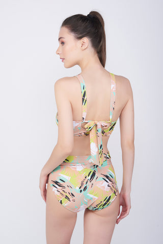 KAI Pine Twist Swimsuit