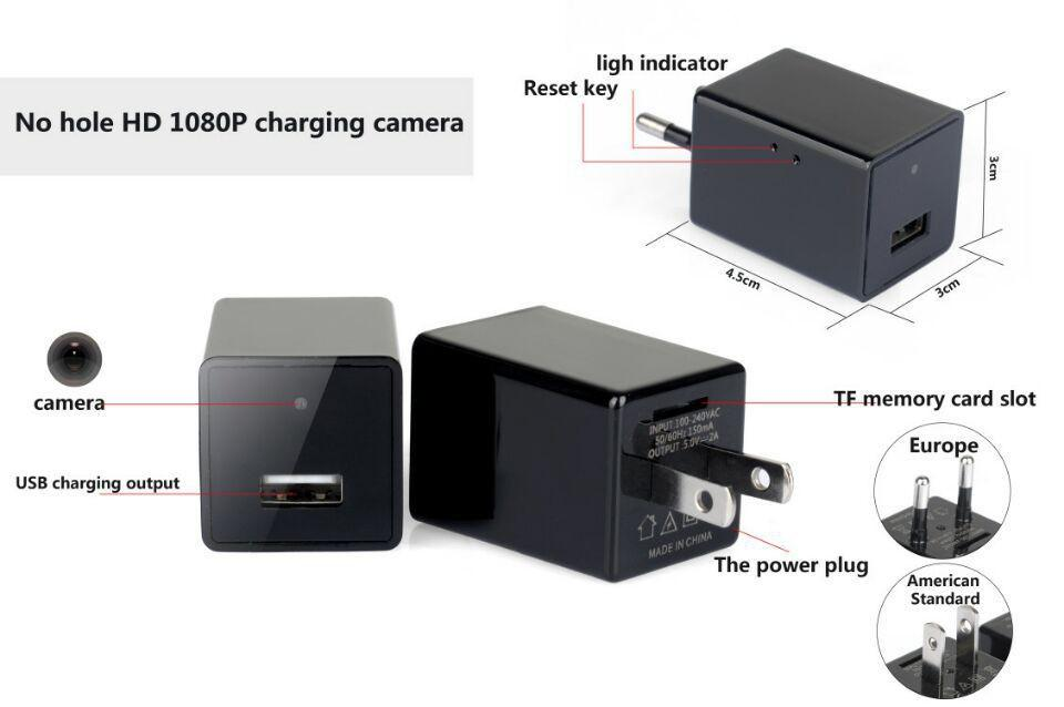 #1 Best Selling Security Camera + Phone Charger
