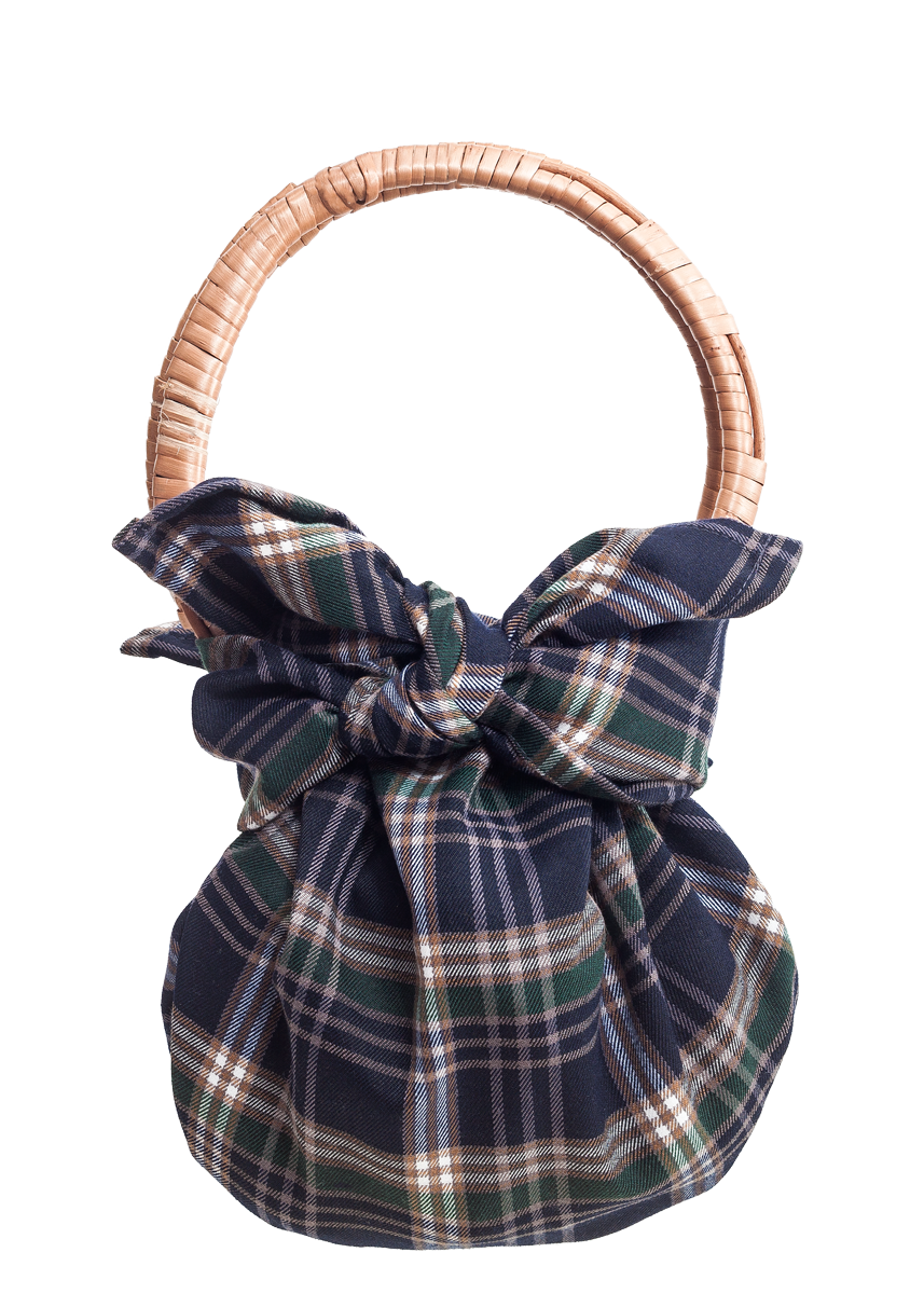 FONOTT The Pouch Abigail green plaid