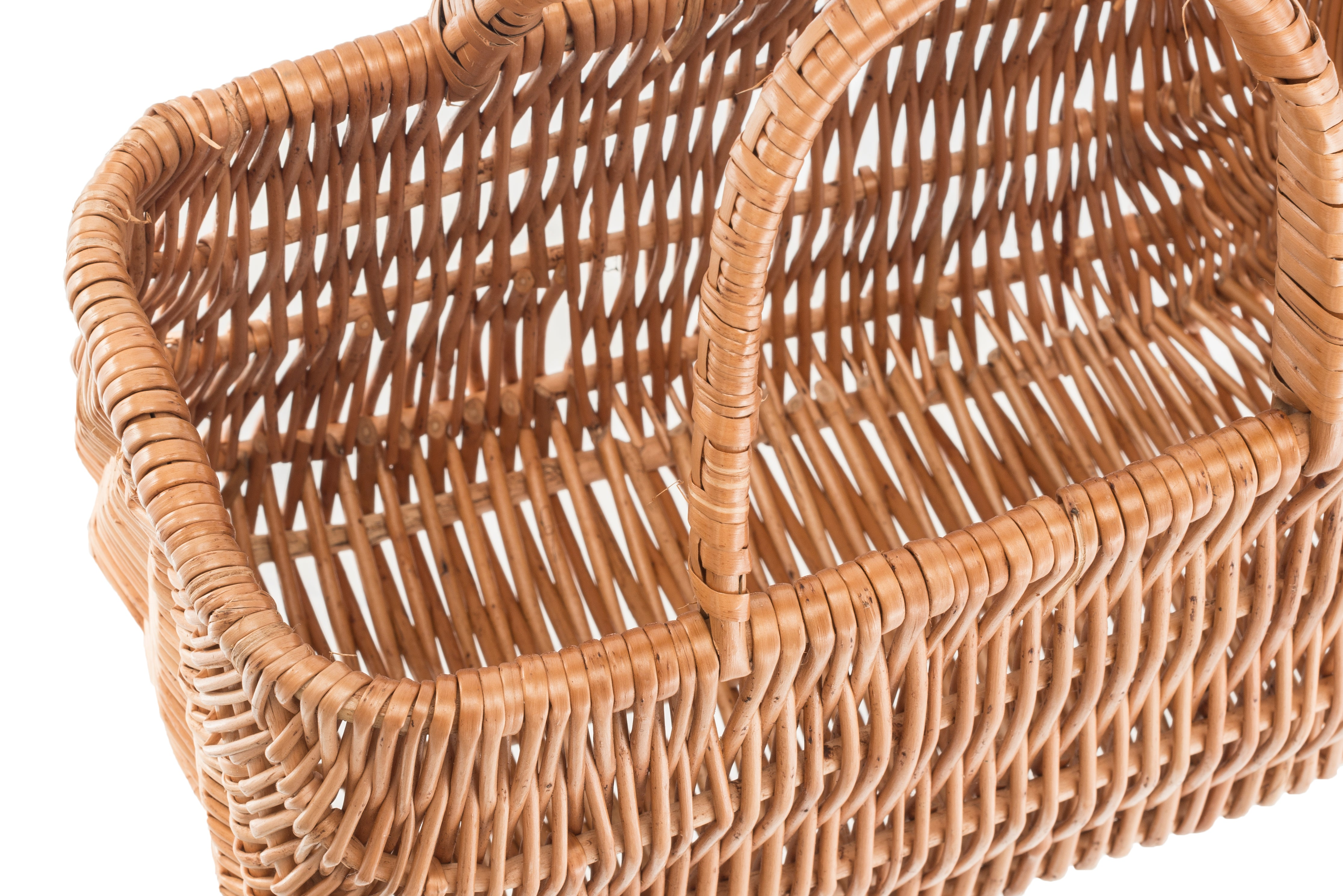Easy to access basket contents