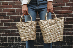 bulrush baskets easy to wear