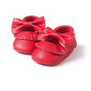 First Walker Baby Girls Shoes in Red