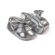 First Walker Baby Girls Shoes in Silver