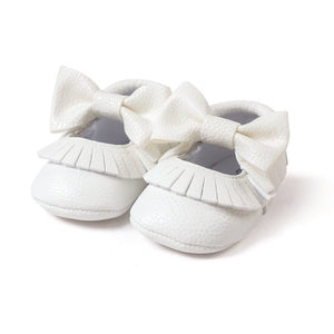 First Walker Baby Girls Shoes in White