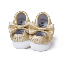 First Walker Baby Girls Shoes in Gold and White