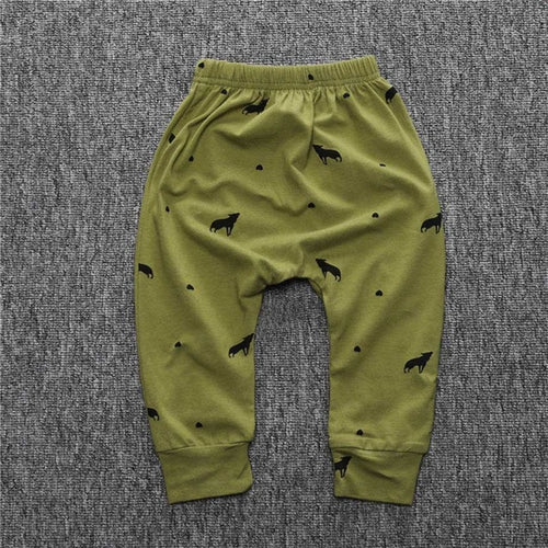 Kids Leggings Khaki Color