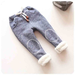 Casual Kids Trousers for Girls in Blue