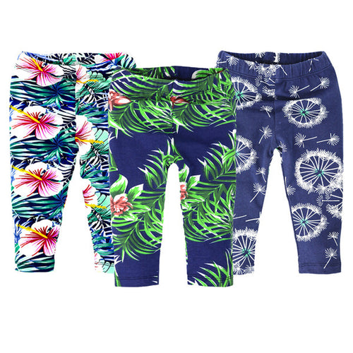 Baby Unisex Leggings 3 PCS Set for Summer & Spring Toddlers 0-24 Mths