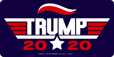 Trump Gun Stickers 6