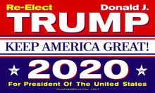 Official Trump 2020 Flag 5'x3'