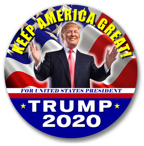 "(100 Ct.) Trump 2020 3"" Buttons"