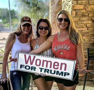 Women for Trump Scrolling Hand Banner (4 Pack)