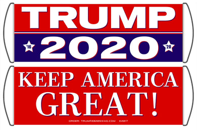 Trump 2020 Scrolling Hand Banner (5 Pack)
