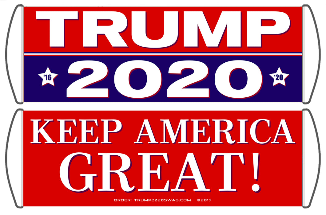 Trump 2020 Scrolling Hand Banner (4 Pack)