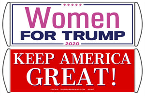 Women for Trump Scrolling Hand Banner (5 Pack)