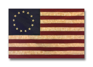 "(100 Ct.) Betsy Ross Flag 2.75"" x 1.75"" Buttons"