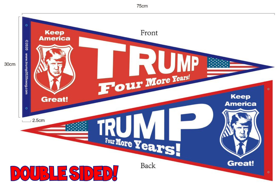 Official Trump 2020 Convention Pennant