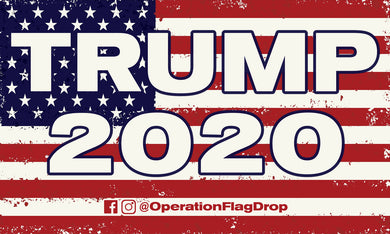 Official 4th of July Trump 2020 Flag 5'x3'