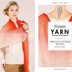 Scheepjes Crochet Pattern YARN 'The After Party 15 - Dream Catcher Shawl