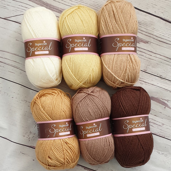 stylecraft special dk - neutral yarn pack