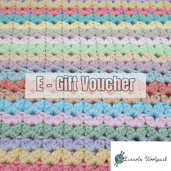 E- Gift Voucher - yarn wool