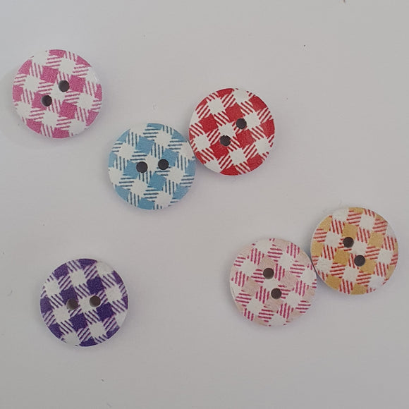 tarten wooden 15mm buttons