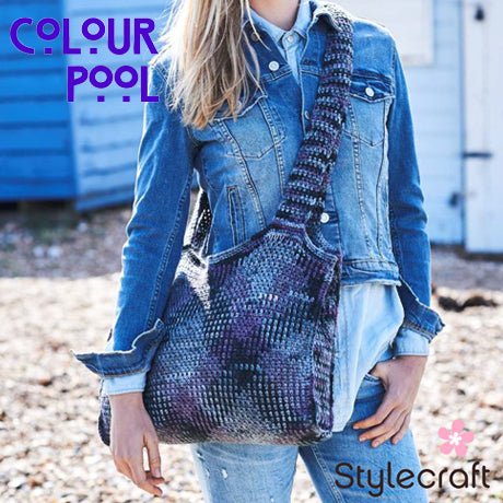 stylecraft colour pool bag free pattern